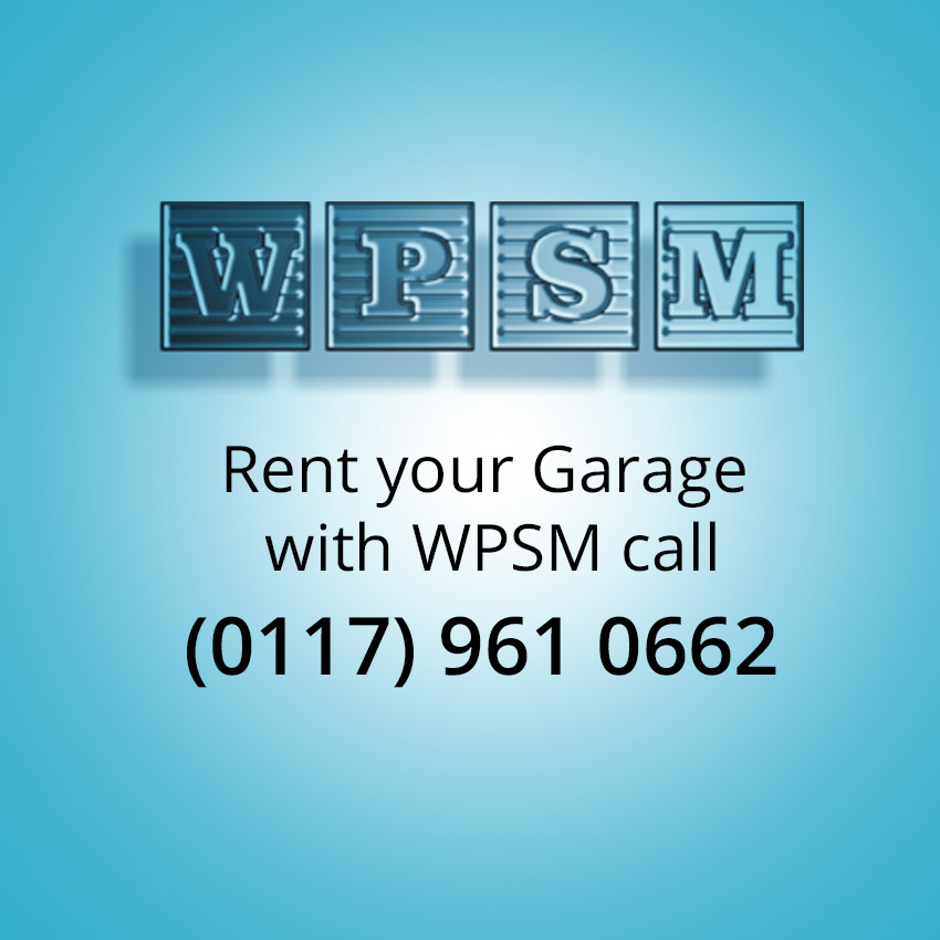 Rent your gargae space with WPSM